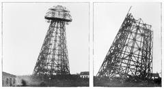 Wardenclyffe_tower_tesla_new_york_demolition_july_september_1917