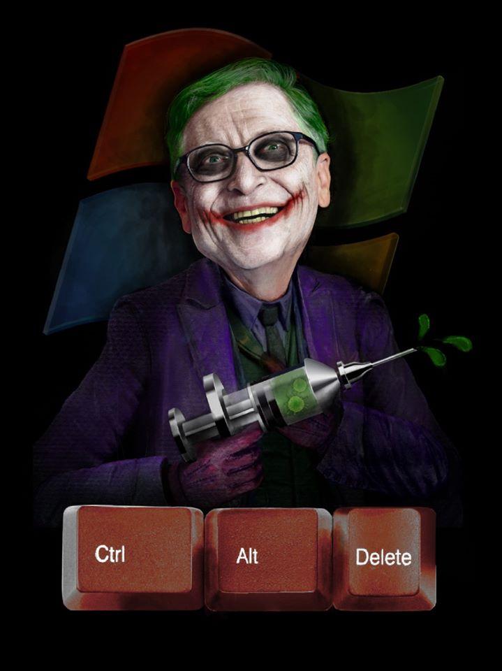 Bill Gates Joker